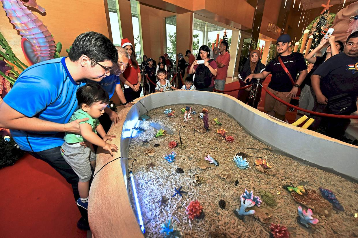 Bringing marine attractions closer to home