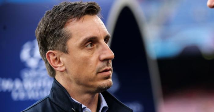 Gary Neville names date when Premier League should return to action