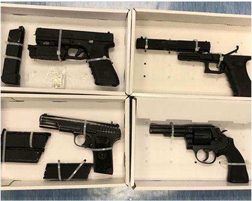 涉藏枪械串谋谋杀 四男女还押