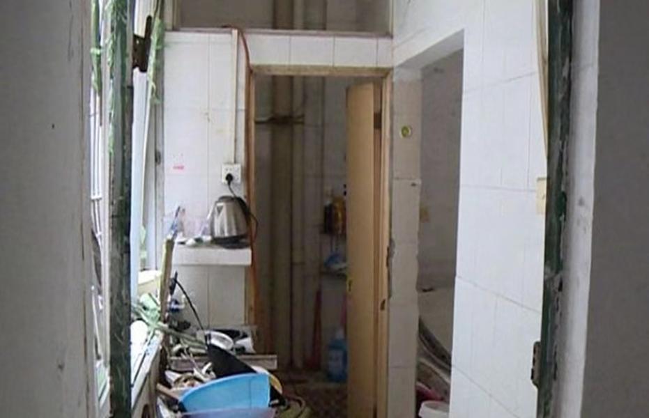 广州疑洗衣机爆炸 酿4伤居民半裸逃生