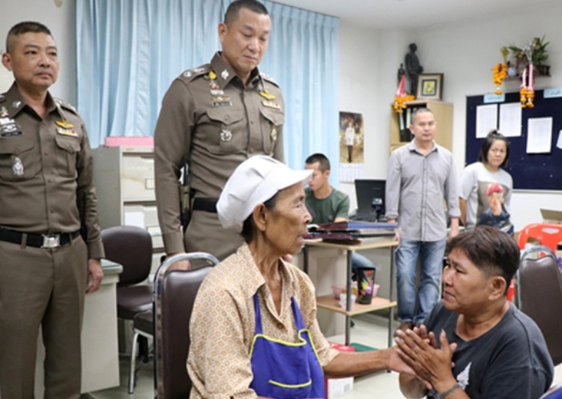 Woman held for buying food with fake banknotes in Thailand