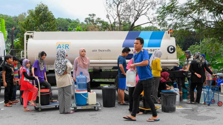 Water supply restored in 56.9% of affected areas at noon