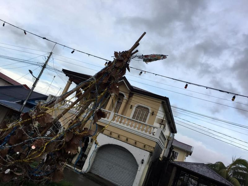 Philippine typhoon phanfone ruins christmas for travellers, evacuees