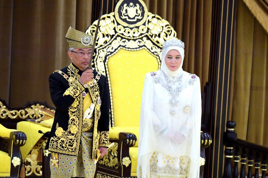 In New Year message, King calls for stronger unity among Malaysians