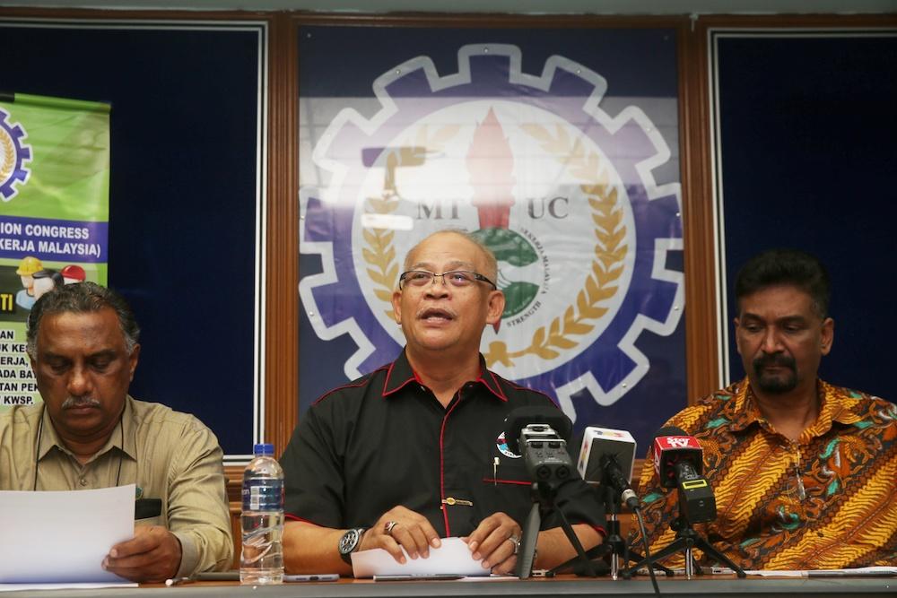 MTUC says still temporarily suspended, deregistration still possible