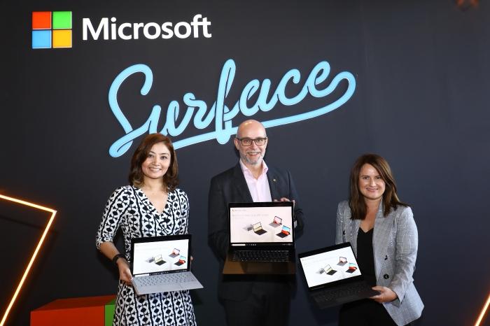 新品介绍/微软增强笔电性能 Surface系列具备高效行动力