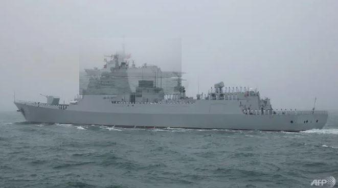 中俄伊 连四天举行海上联合演习