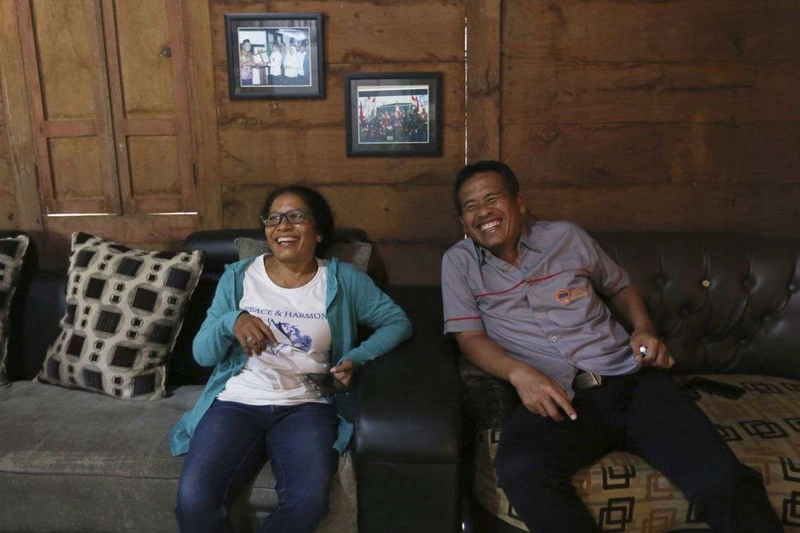 Widow of Bali bombing victim forges friendship, seeks peace with ex-bombmaker