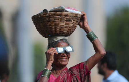 Asia's eclipse watchers are more fascinating than the eclipse itself