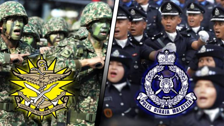 PDRM requests for personnel to be treated at military hospitals