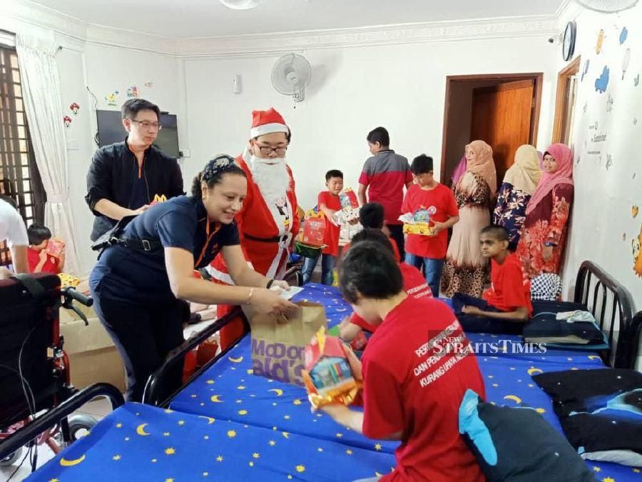 Unbowed by polio, Johor man establishes home for the differently abled