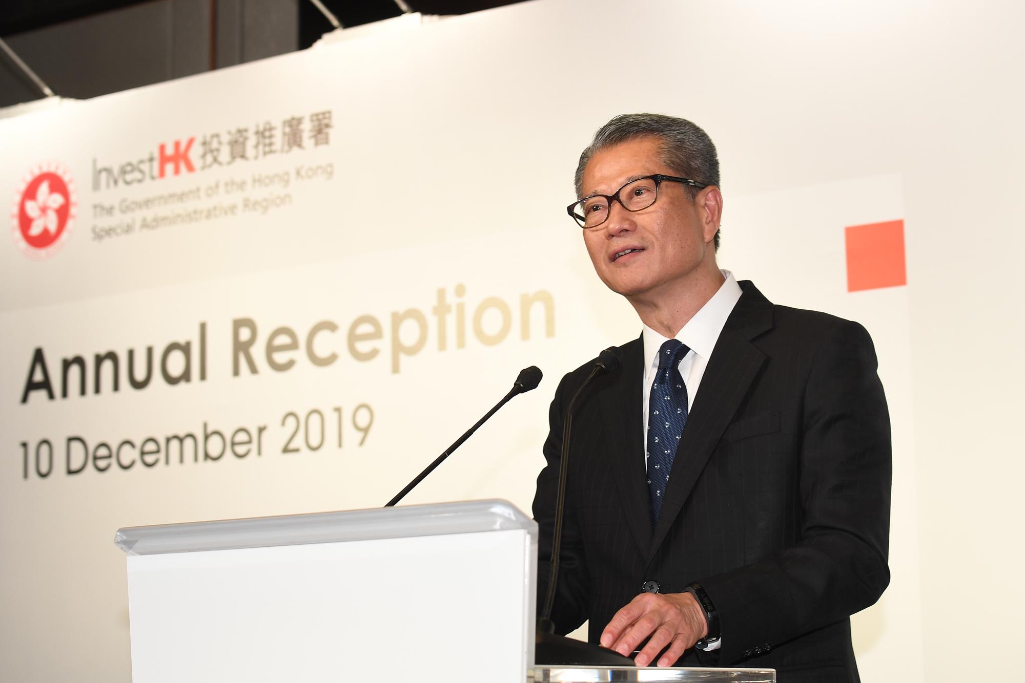 【修例风波】动盪半年重创香港 陈茂波料政府帐目15年来首「见红」