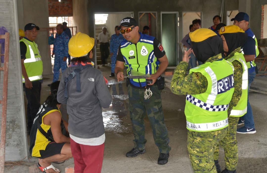 Three illegals detained in KK