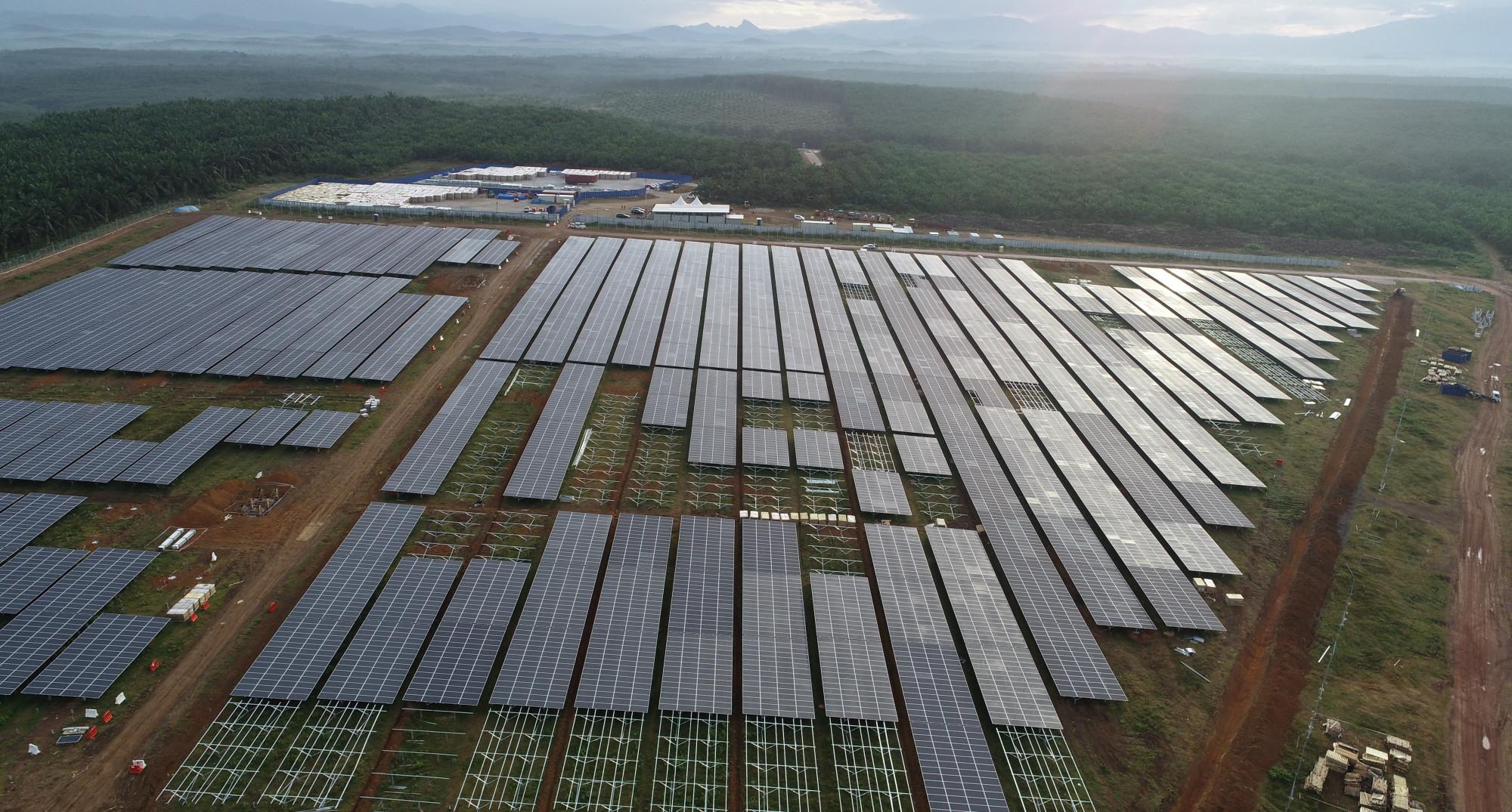 吉大型太阳光伏电站 国能:完成84%