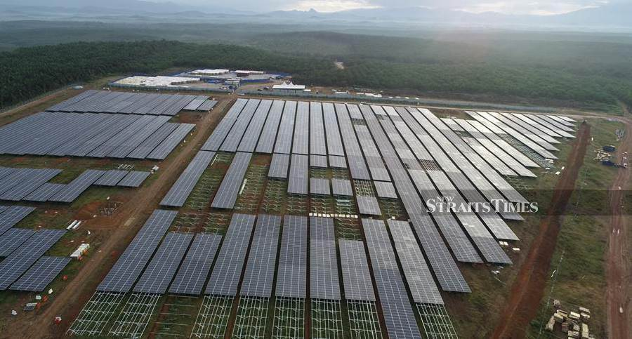 TNB's second large-scale solar project 84pct complete