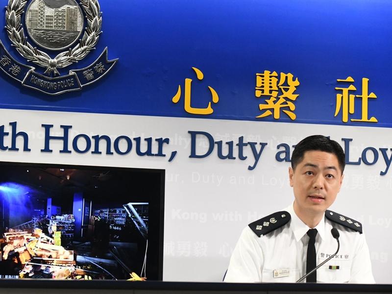 警方否认前缐放记者照片上TG群组 指该警员无开设帐户