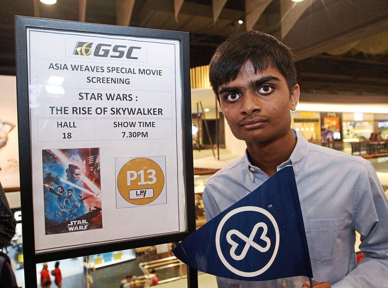 Force for good raises RM27,000 at the movies