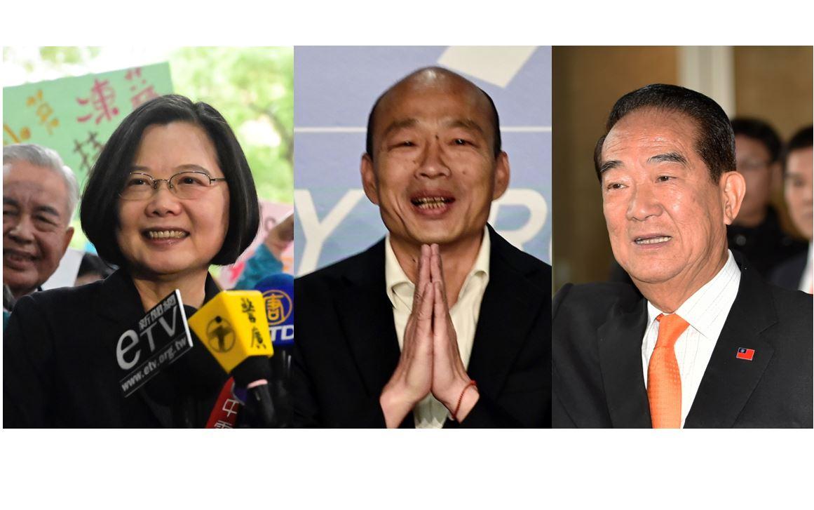 台总统候选人唯一电视辩论会 两岸议题掀舌战