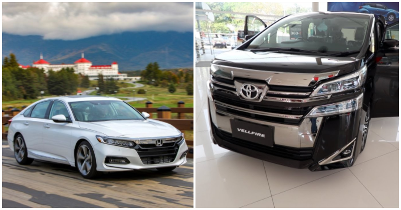 Ministers & Government Officials To Receive Toyota Vellfires & Honda Accords As Official Vehicles