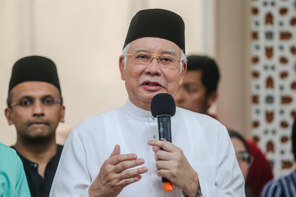 Ahead of 2020, Najib claims Malaysians truly enjoyed 'shared prosperity' under BN