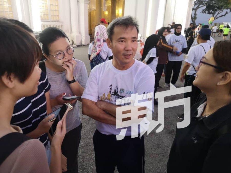 槟市长尤端祥否认 遭反贪会突击搜查