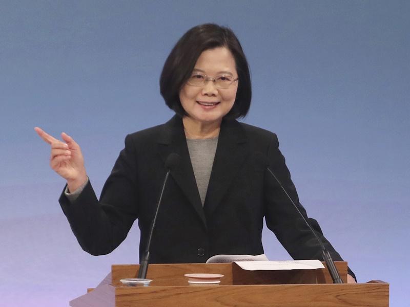 蔡英文:反渗透法可更保障台湾民主自由