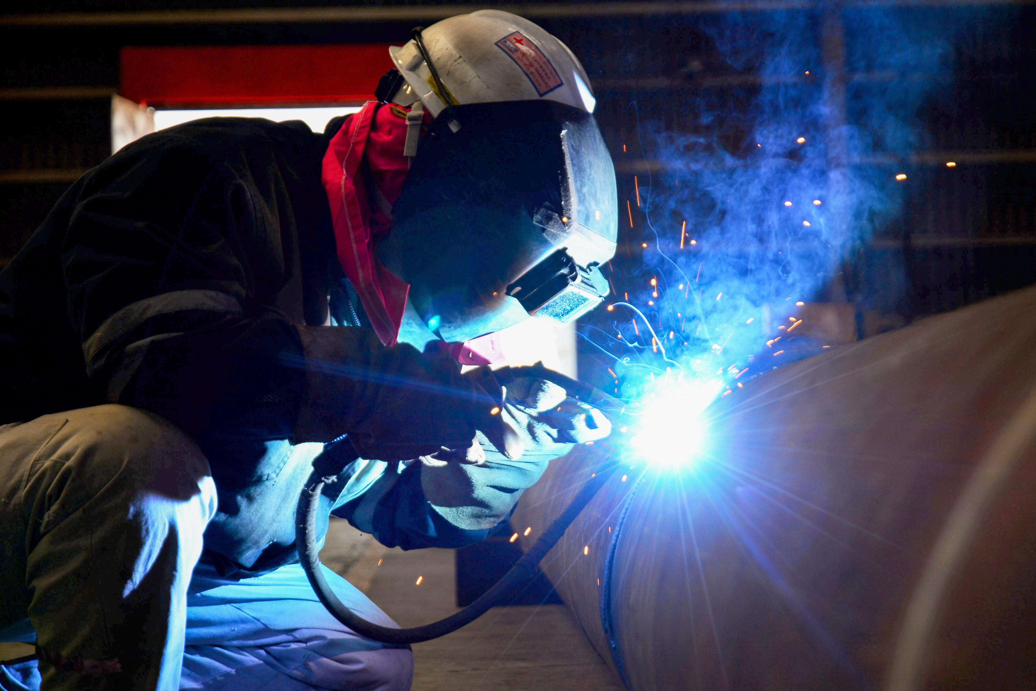 中国首两个月工业产值 年比增长35.1%
