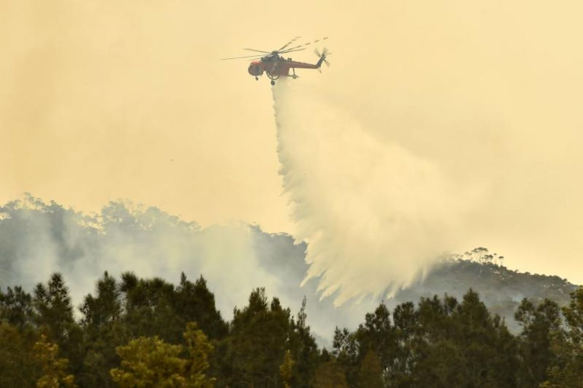 As bush fires rage, Australia's never been so hot and dry