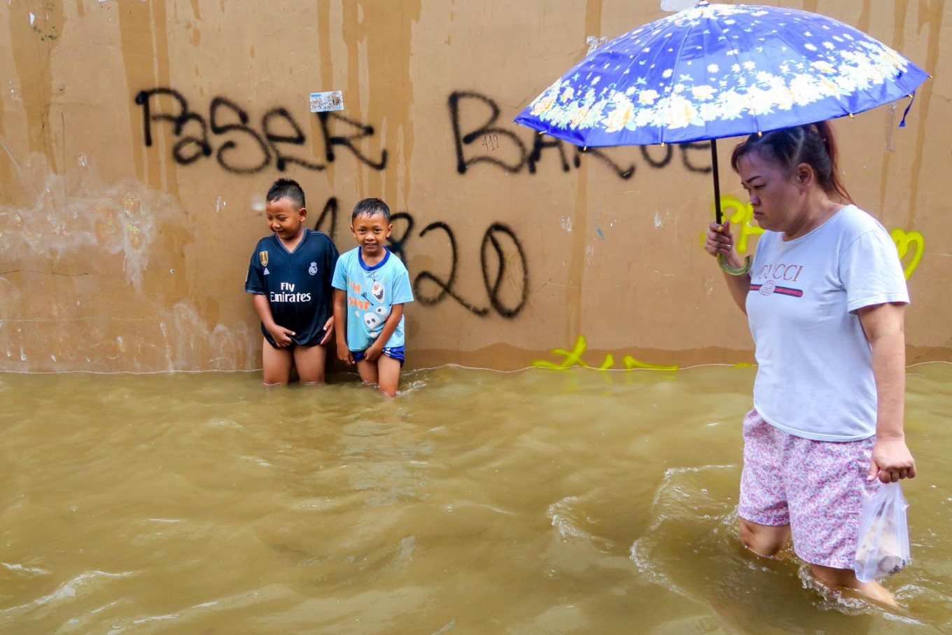 'Not ordinary rain': Worst rainfall in over decade causes massive floods in Jakarta