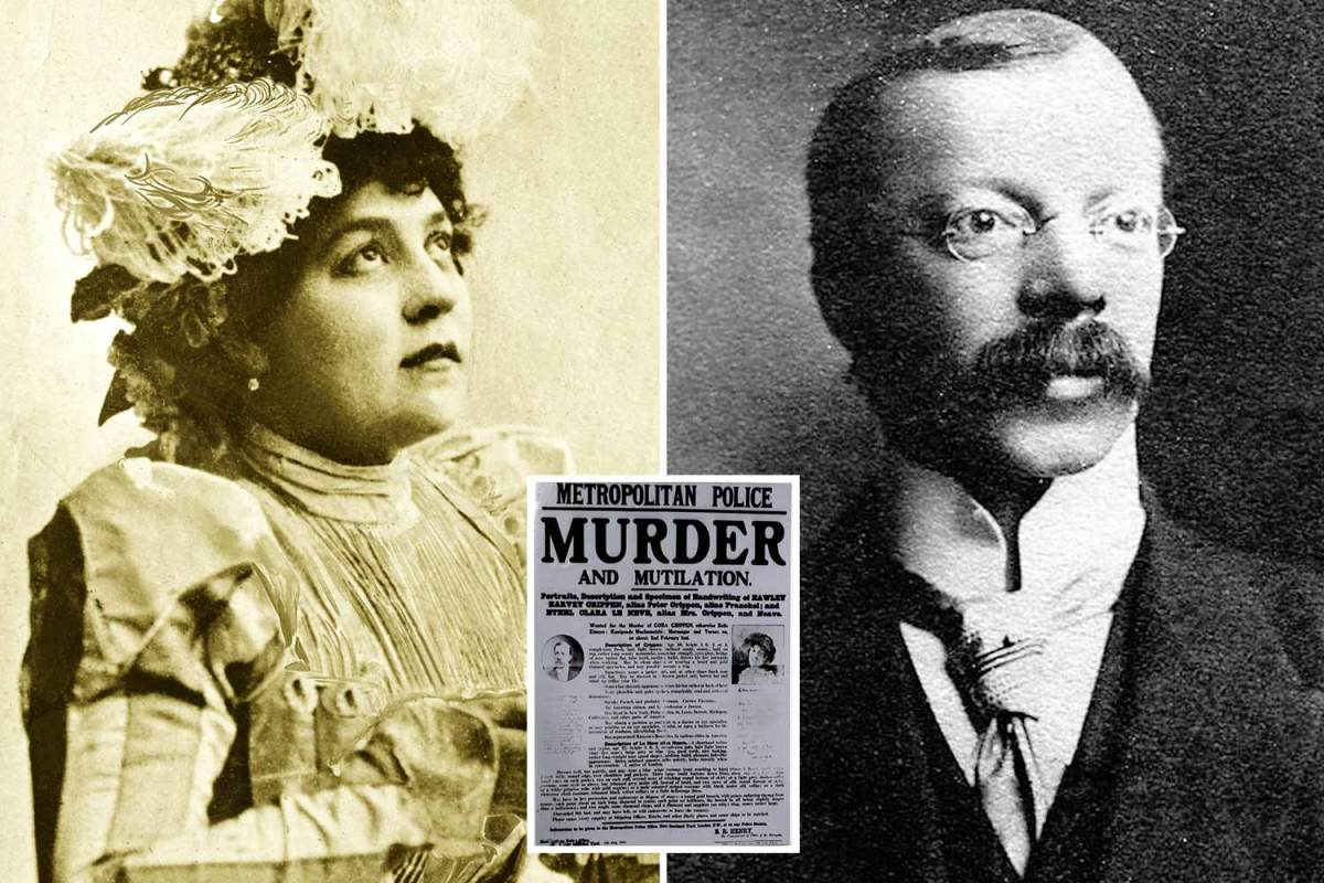 Dismembered body of 'wife' found in killer Dr Crippen's cellar was MALE & may have been planted by cops, says