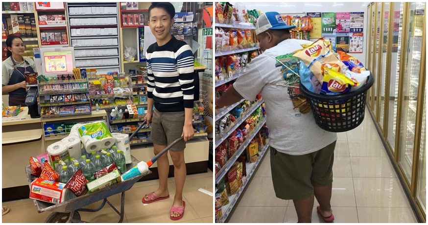 Photos: Thai People Are Finding Creative Ways To Carry Their Shopping Without Plastic Bags!