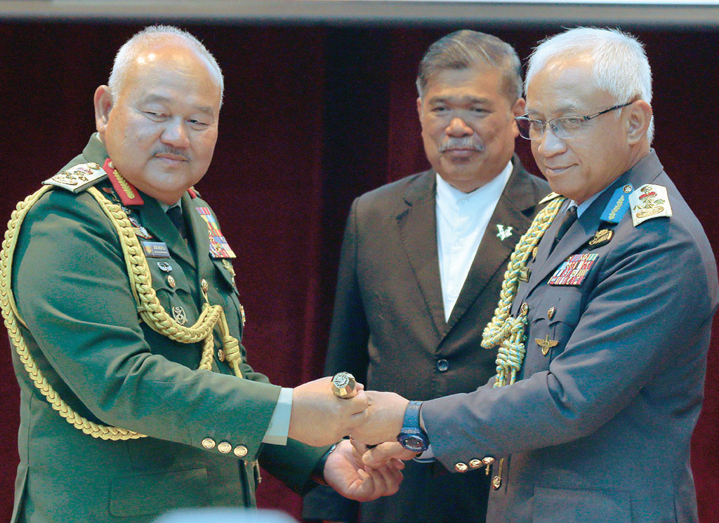 Affendi Buang is the 21st Armed Forces chief