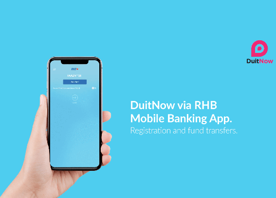 RHB helps customers activate DuitNow over-the-counter