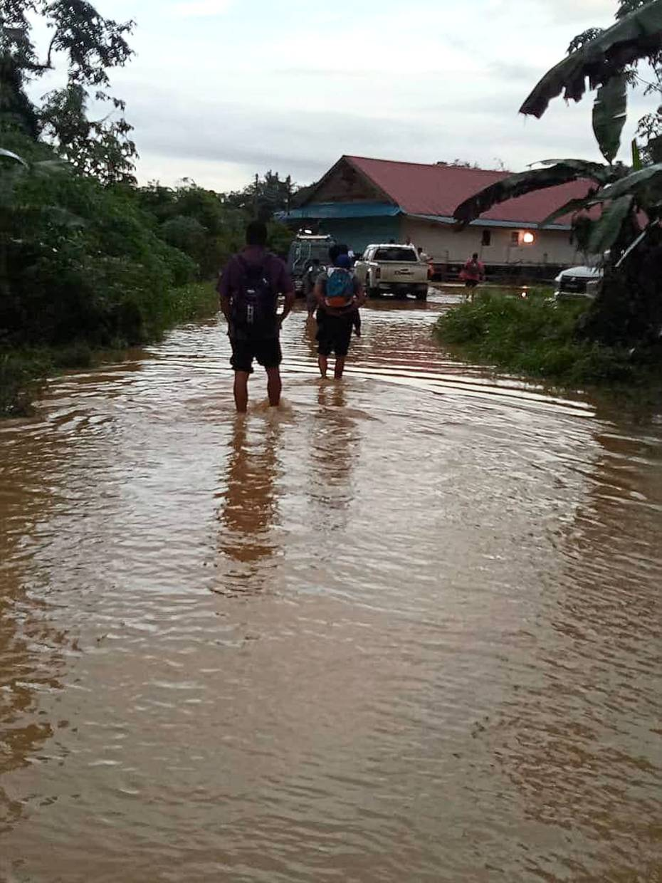 Schools hit by floods and mud flow