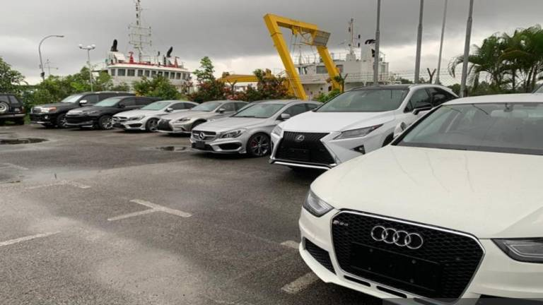 Sarawak customs thwarts attempt to smuggle luxury vehicles worth RM10.2m