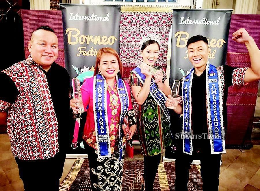 Sabahan wins honours in London fashion competition
