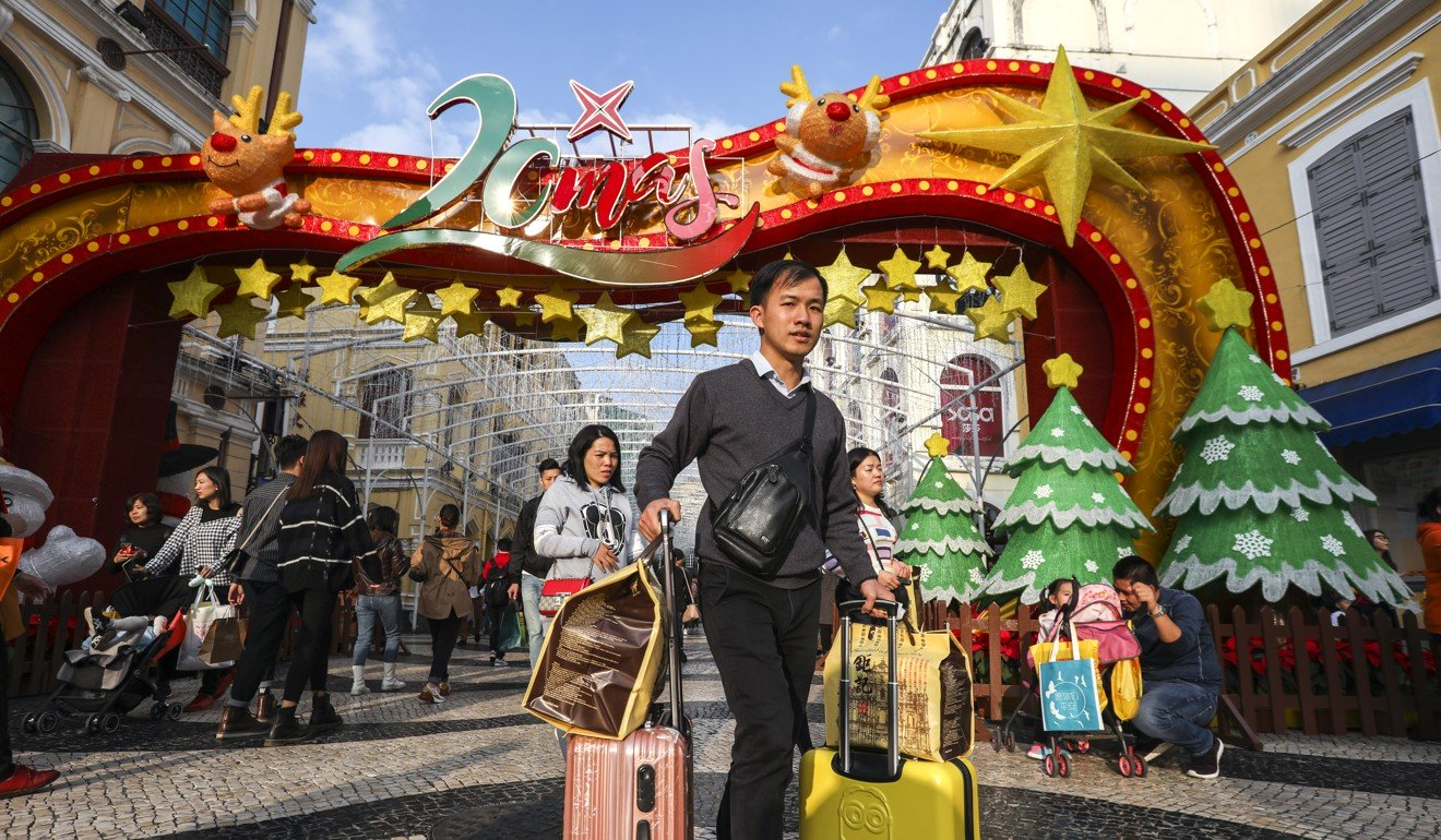 Mainland Chinese tourists shun Hong Kong in favour of Macau over Christmas and New Year
