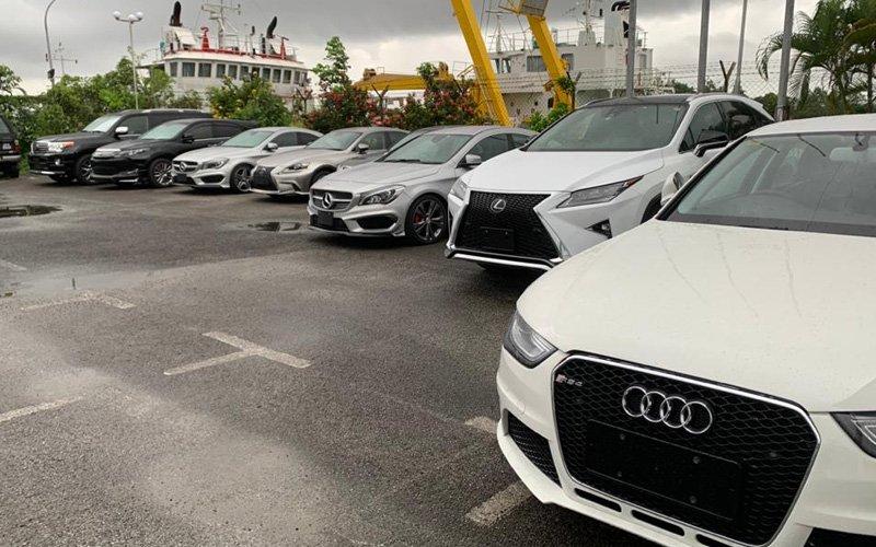 Sarawak Customs seize 42 imported luxury vehicles worth RM10 mil