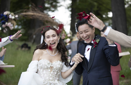 Han Geng and Celina Jade's New Zealand Wedding