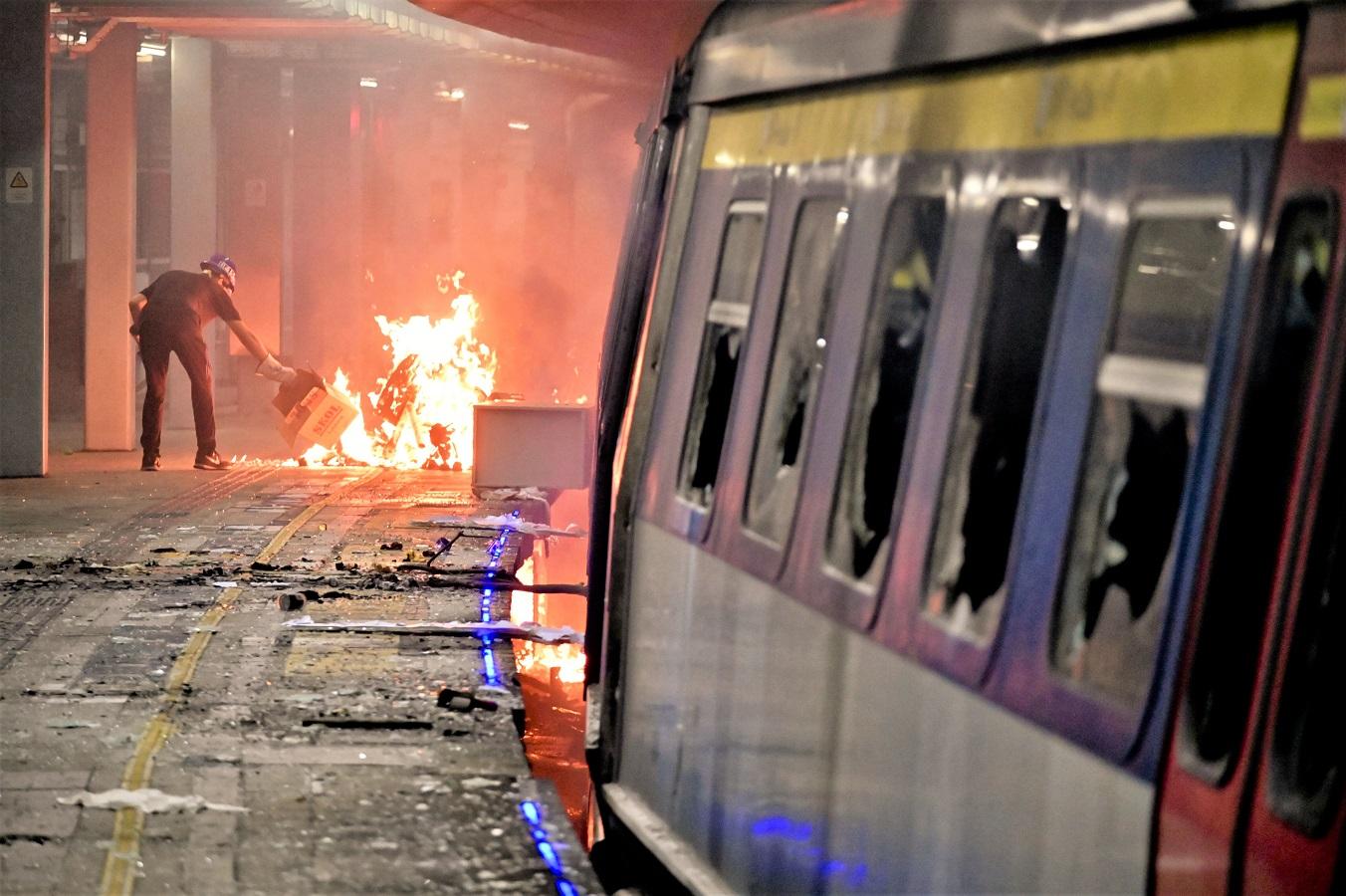 回应新工会「不割席」言论 港铁:绝不接受任何破坏铁路设施行为