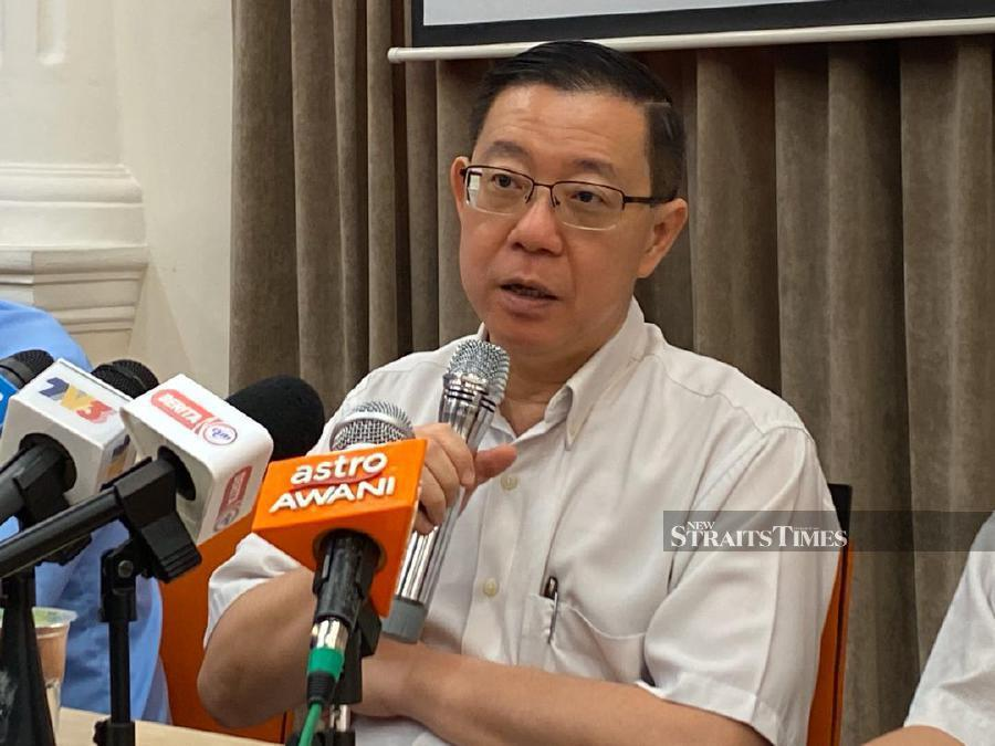 Guan Eng: Govt confident economy will improve this year