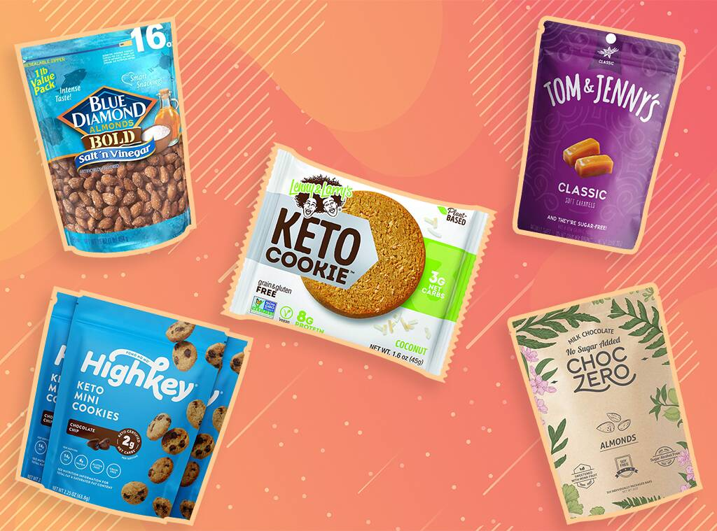 15 Yummy, Crunchy, Sweet and Salty Keto Snacks You Can Buy Online