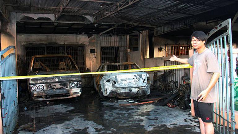 Seven double-storey terrace houses razed in early morning fire