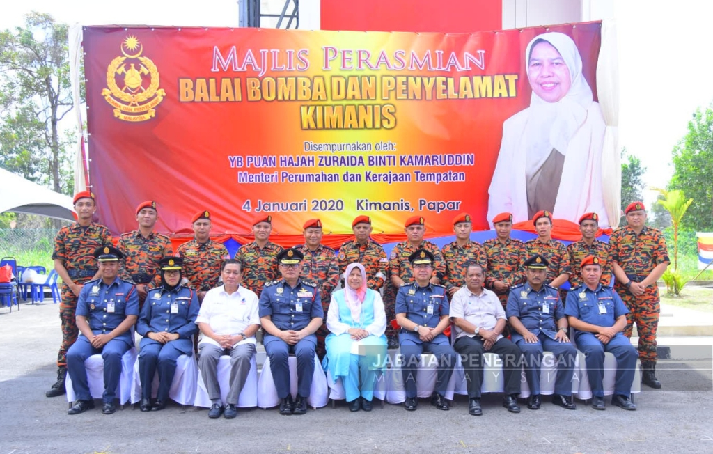 Eight more fire and rescue stations for Sabah – Zuraida
