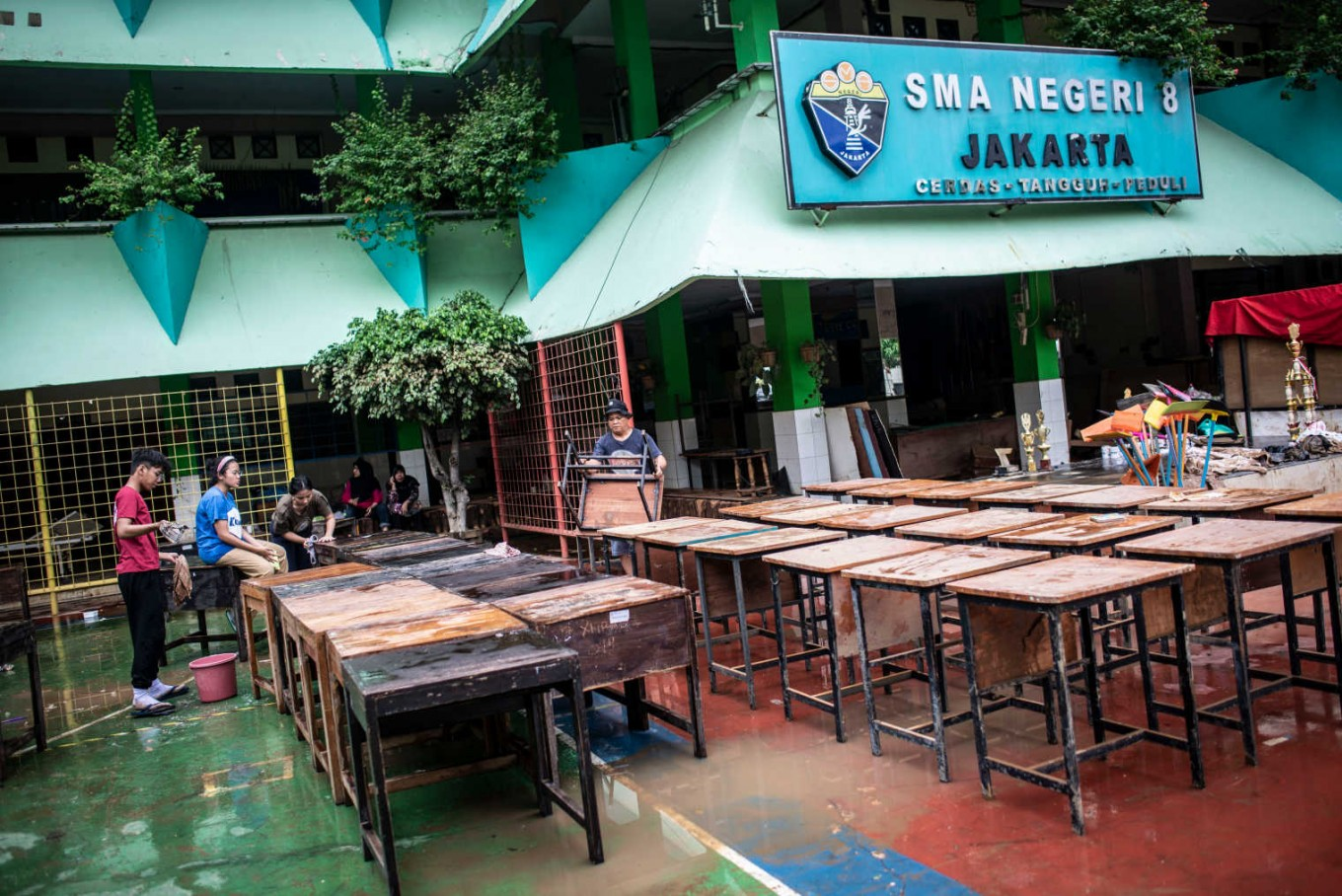 Casual Monday: Students allowed to forego uniforms as schools set to reopen after floods