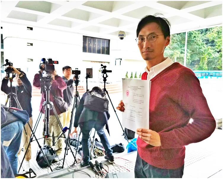 参选村代表被DQ提选举呈请 朱凯廸指胜诉不大申撤回获批