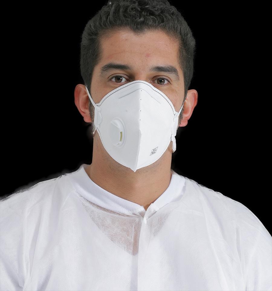 戴口罩须配合脸型 漏气难阻隔病毒细菌