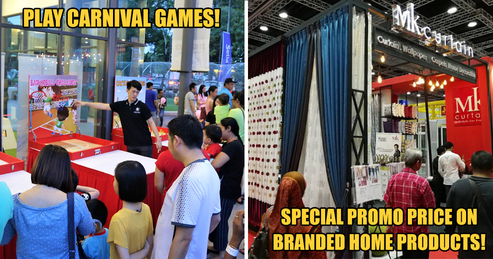 No Weekend Plans? Play Carnival Games, Enjoy Special Promo Priced Home Products & More At This Qube Market!