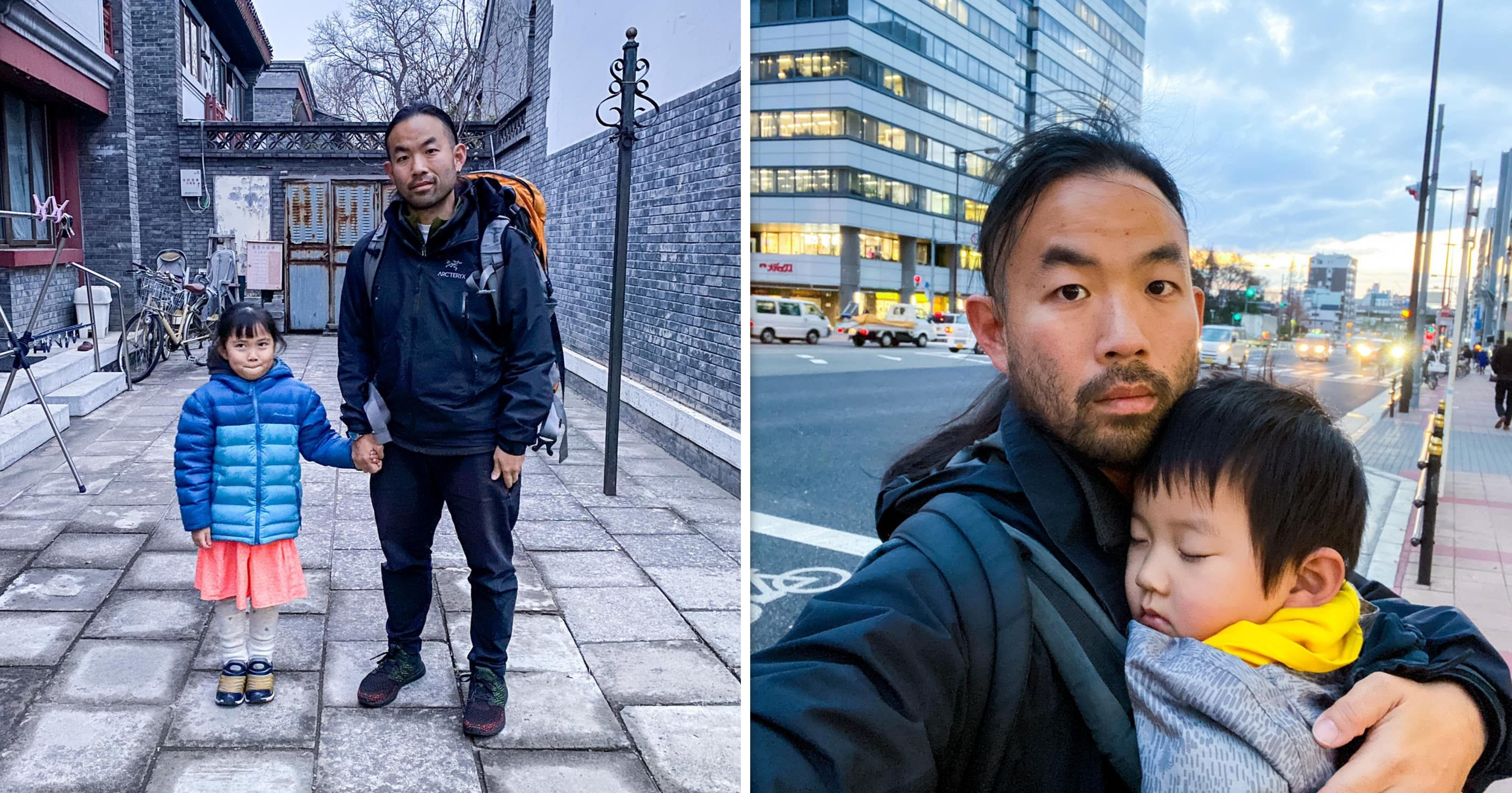 M'sian photographer brings his toddlers on solo travels for bonding & life lessons