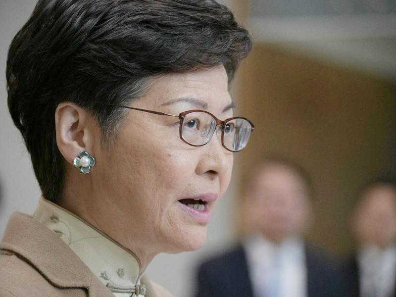 【修例风波】泛民不满见落选人 林郑:向卸任区议员表示致谢